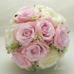 Rózsaszín-ekrü örökcsokor