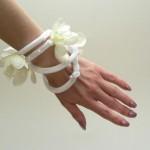 Fehér orchideás viráginda - Rendelhető!