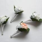 vőlegény kitűző bármilyen színű rózsával rendelhető