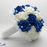 Különleges kék csokorra vágysz? Keress meg! Én megfestem neked! :)